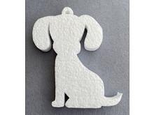 Заготовка из пенопласта-собака 15см
