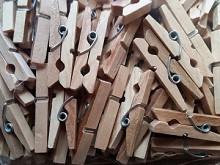 Прищепки деревянные