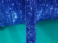 Лента велюровая люрекс
