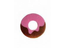 Аппликация из фетра <Пончик >