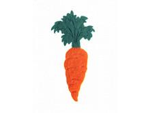 Аппликация из фетра  < Морковь >