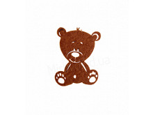 Аппликация из фетра <Медведь >