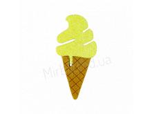 Аппликация из фетра и фома <Мороженое >