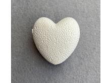 Заготовка из пенопласта-сердце 6см