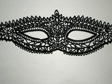 маска кружевная