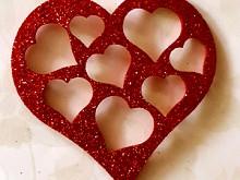 Вырубка-сердце